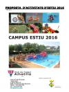 Campus d'estiu del CF l'Ametlla