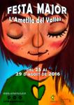 Cartell de la Festa Major 2016 de l'Ametlla del Vallès