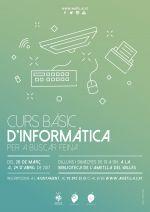 Curs d'informàtica bàsica per a buscar feina 2017