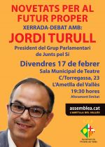 Xerrada de Jordi Turull