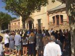 Minuts de silenci pels atemptats de Barcelona i Cambrils