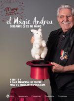 40 anys de màgia amb el Màgic Andreu