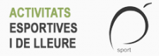 Activitats esportives i de lleure 2016-2017