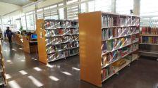 Interior de la Biblioteca Municipal Josep Badia i Moret