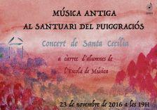 Concert de Santa Cecília de l'Escola de Música de l'Ametlla (2016)