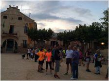 """La caminada """"Clar de Lluna"""" va començar a la plaça de l'Ajuntament"""