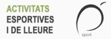 Activitats esportives i de lleure temporada 2016-2017