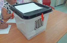 Urna del referèndum de l'1 d'octubre