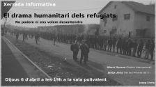 """Xerrada """"El drama humanitari dels refugiats"""""""