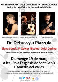 XIII Temporada de Concerts Internacionals de l'Ametlla
