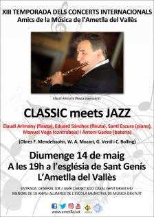 """Concert """"Classics meets jazz"""""""