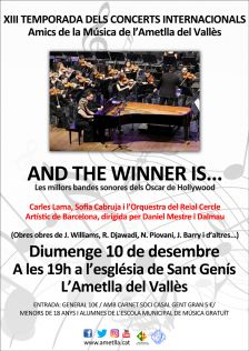 """Concert """"And the winner is..."""" desembre 2017"""
