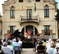 Concert d'Antonio Lizana Quintet al 6è Cicle de Jazz de l'Ametlla del Vallès