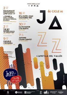 Cartell 6è Cicle de Jazz de l'Ametlla del Vallès