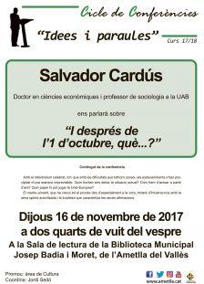 Xerrada de Salvador Cardús