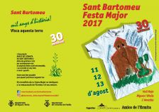 Programa Festa Major Sant Bartomeu