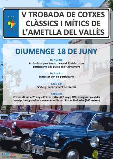 V Trobada de Cotxes Clàssics de l'Ametlla