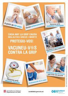 Campanya vacunació grip 2017