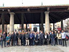 28 alcaldes/esses del Vallès Oriental a la Porxada
