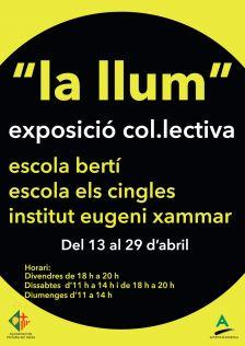 """Exposició col·lectiva """"La llum"""""""