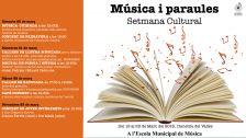 Setmana Cultural de l'Escola de Música 2018