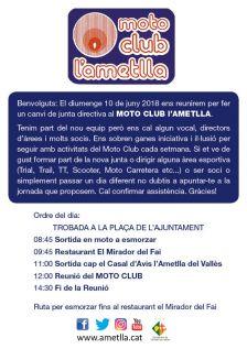 Moto Club l'Ametlla 2018