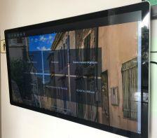 Nova pantalla interactiva de l'Ajuntament de l'Ametlla del Vallès