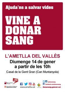 Jornada de donació de sang 14//