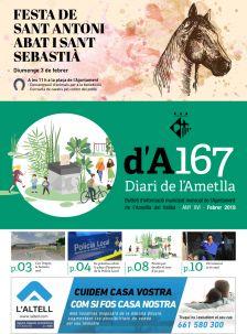 Diari de l'Ametlla 167 (febrer de 2019)