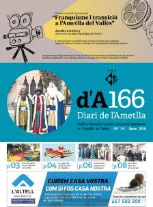Portada Diari de l'Ametlla 166