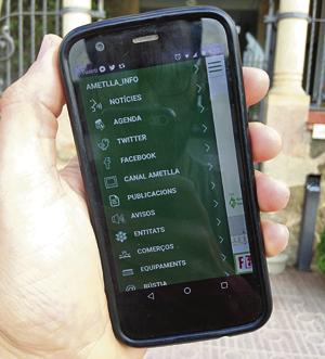 Aplicació per a dispositiusmòbils de l'Ajuntament