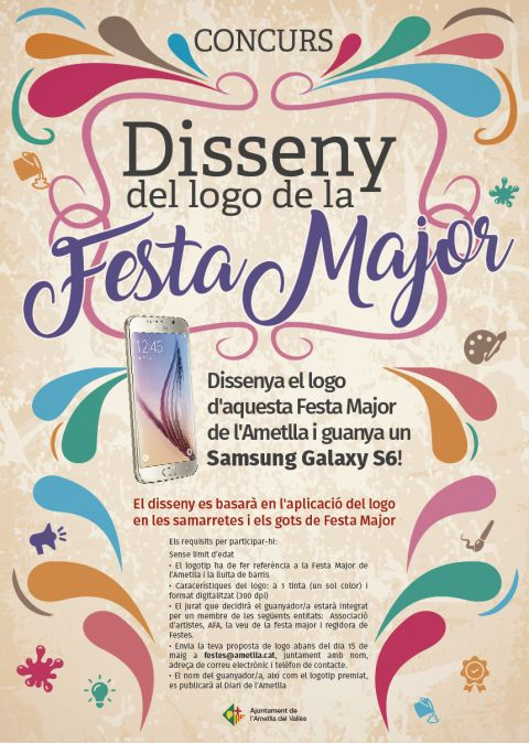 Disseny del logotip de la Festa Major