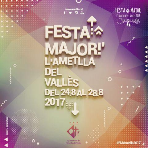 Imatge de la Festa Major de l'Ametlla del Vallès 2017