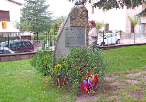 Monòlit del parc Joan Plumé