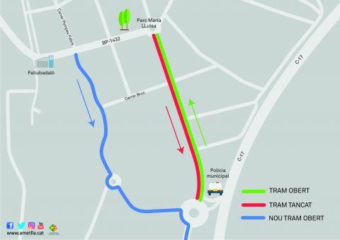 Afectació trànsit