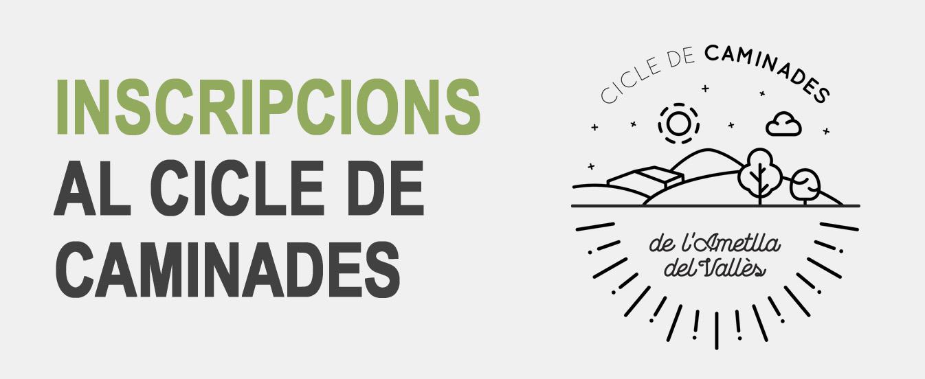 Cicle de Caminades 2019