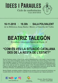 Cartell Idees i Paraules
